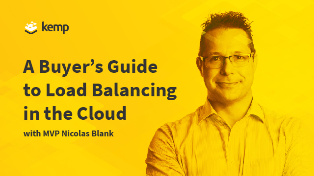 A Buyer's Guide to Load Balancing in the Cloud