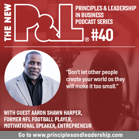 The New P&L speaks to former NFL star & entrepreneur, Aaron Shawn Harper