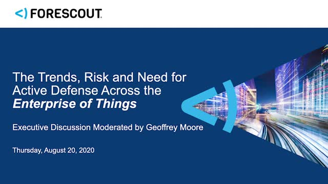 Active Defense Across the Enterprise of Things