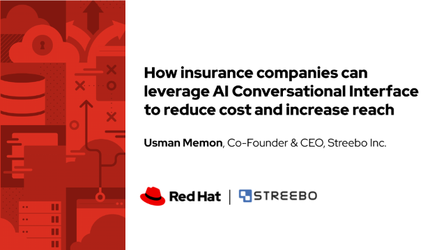 How insurance companies can leverage AI Conversational Interface