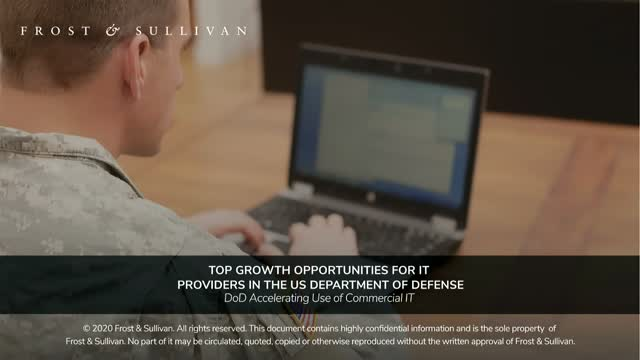 Top Growth Opportunities for IT Providers in the US Department of Defense