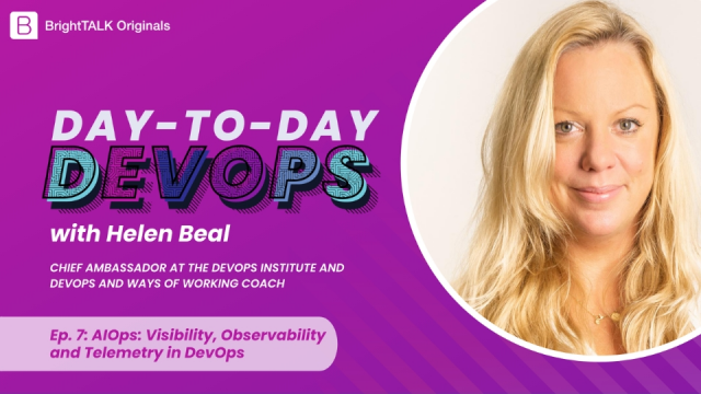 AIOps: Visibility, Observability and Telemetry in DevOps