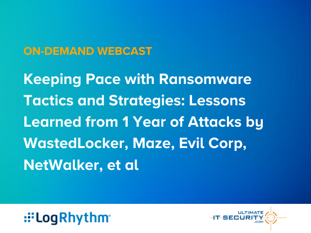 Keeping Pace with Ransomware Tactics and Strategies: Lessons Learned from 1 Year