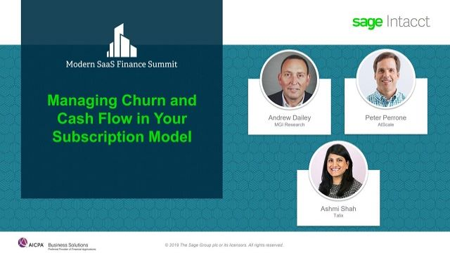 Managing Churn and Cash Flow in Your Subscription Billing Models