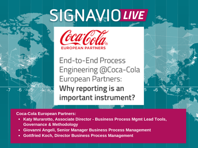 End-to-End Process Engineering: Why reporting is an important instrument