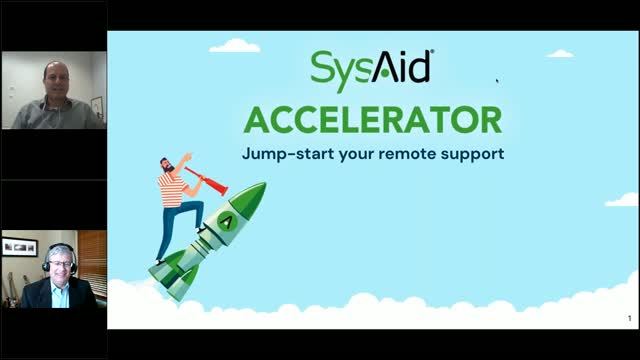 Jump-start your remote support