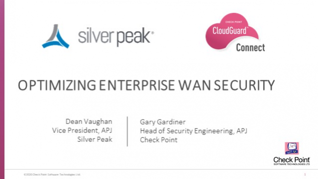 Optimizing SD-WAN Security for Cloud-first enterprises