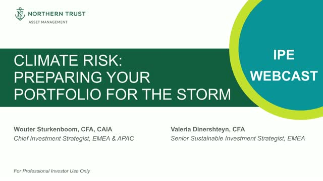 Climate Risk: Preparing Your Portfolio for the Storm