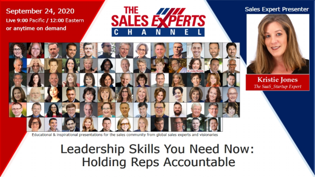 Leadership Skills You Need Now: Holding Reps Accountable