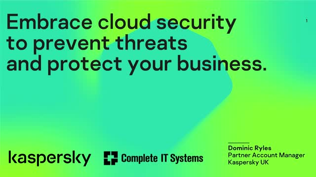 Embrace cloud security to prevent threats and protect your business