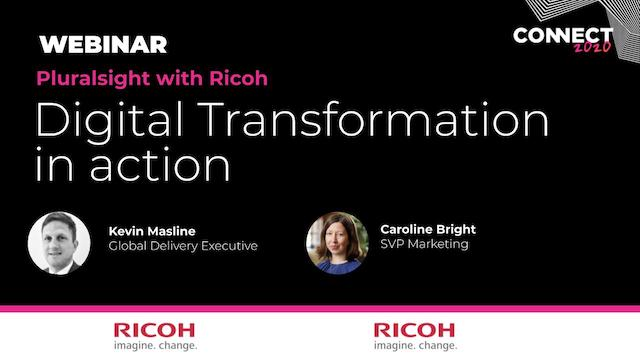 Ricoh – Customer Case Study – Digital Transformation in action