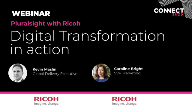 Ricoh - Customer Case Study - Digital Transformation in action