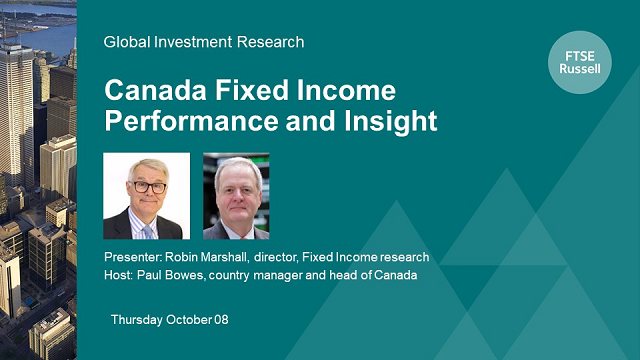 Canada Fixed Income Performance and Insight