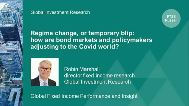 How are bond markets adjusting to the Covid world?