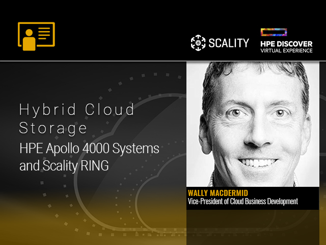 Hybrid Cloud Storage With HPE Apollo 4000 Systems and Scality RING