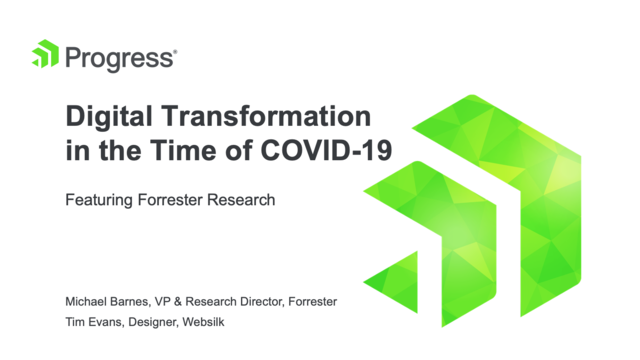 Digital Transformation in the Time of COVID-19
