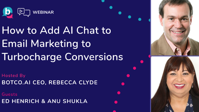 How to add AI chat to email marketing to turbocharge conversions