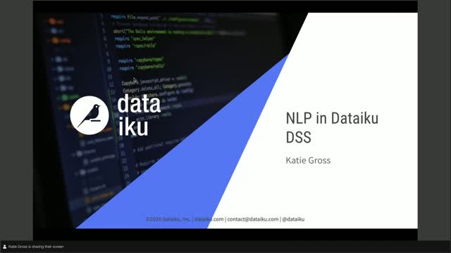 Your Path to NLP Mastery in Dataiku DSS