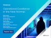 Operational Excellence in the New Normal