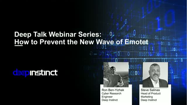 Live Demo: How to Prevent the New Wave of Emotet