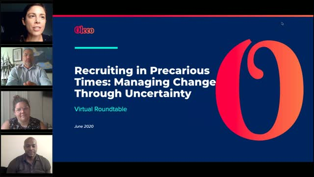 Recruiting in Precarious Times  Managing Change through Uncertainty