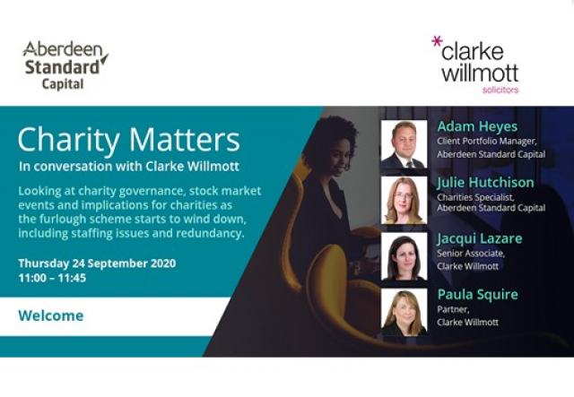 Charity Matters - In conversation with Clarke Willmott