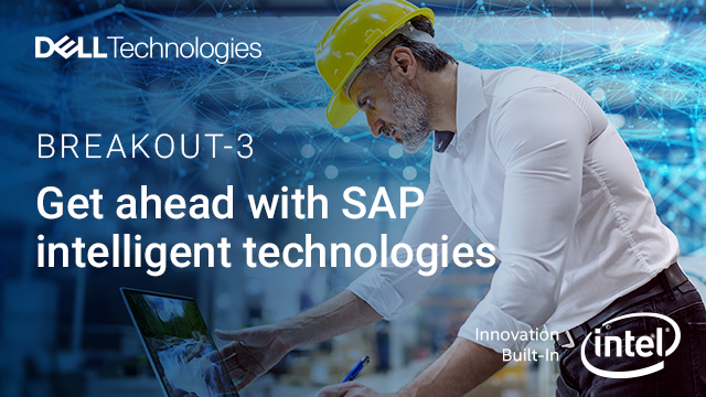 Get ahead with SAP Intelligent Technologies