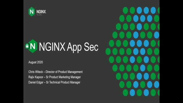 Application Security with NGINX