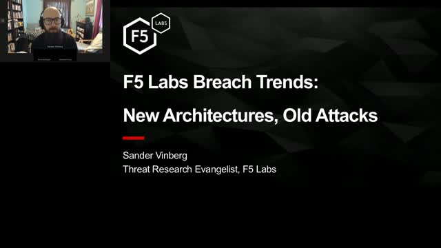 F5 Labs Breach Trends: New Architectures, Old Attacks