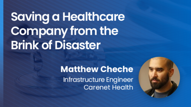 Saving a Healthcare Company from the Brink of Disaster