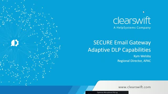 Clearswift Secure Email Gateway Adaptive DLP Capabilities