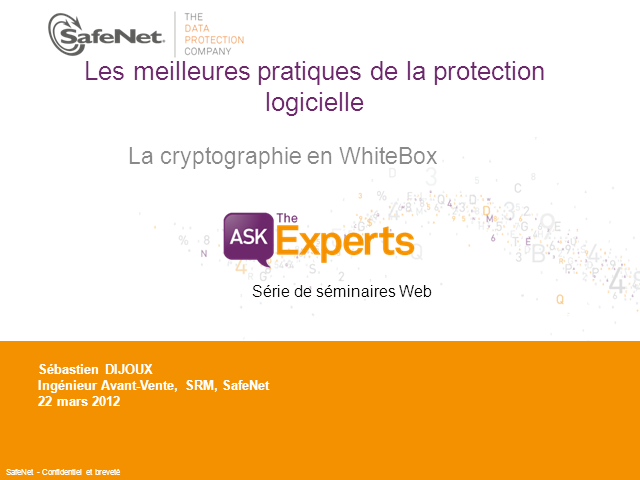La cryptographie en White Box