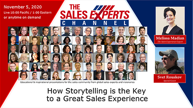 How Storytelling is the Key to a Great Sales Experience
