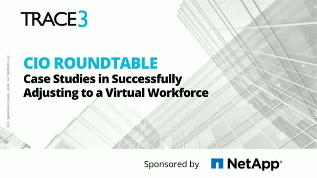 CIO Rountable: Case Studies in Successfully Adjusting to a Virtual Workforce