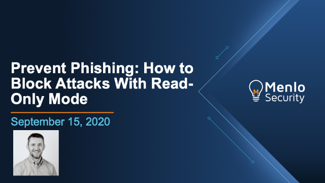 Prevent Phishing: How to Block Attacks With Read-Only Mode