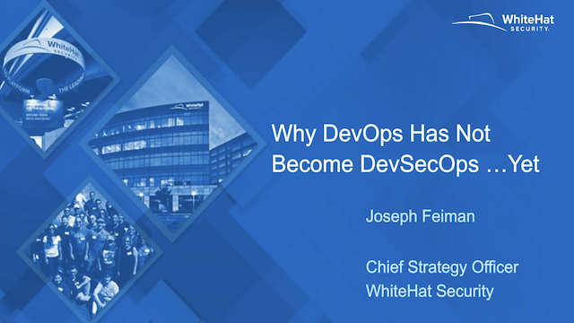 The DevSecOps Journey: How to Transform AppSec and Move Toward Secure DevOps