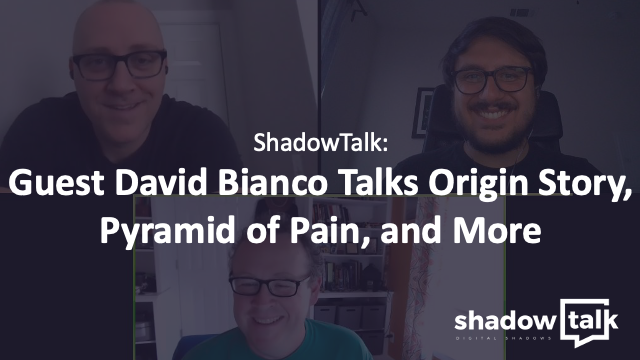 Podcast: Guest David Bianco Talks Origin Story, Pyramid of Pain, and More