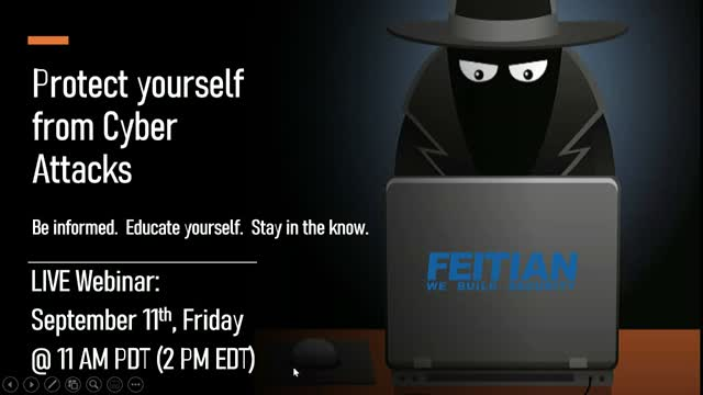 Protect yourself from Cyber Attacks! Use FEITIAN Tokens and Security Keys!
