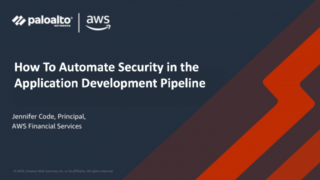 How To Automate Security in the Application Development Pipeline