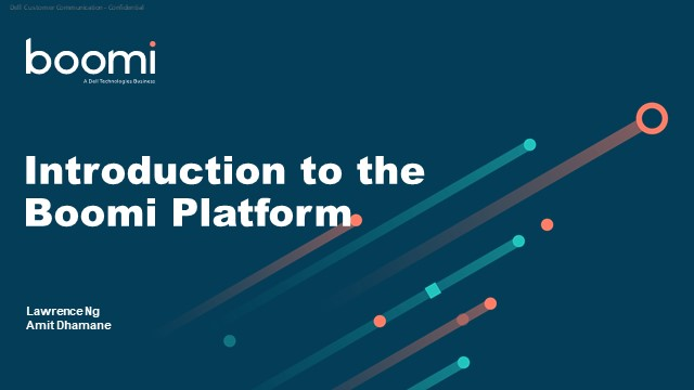 Introduction to the Boomi Platform