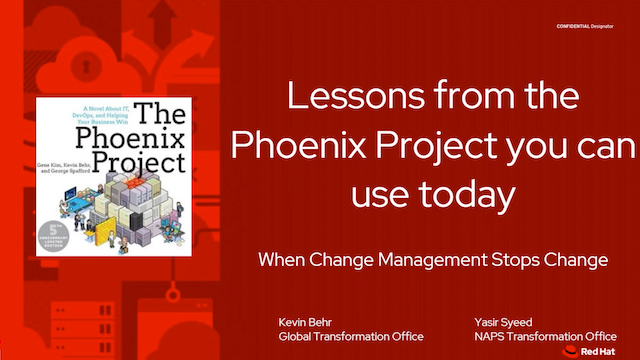 When change management stops change: How to increase velocity and reduce risk v2