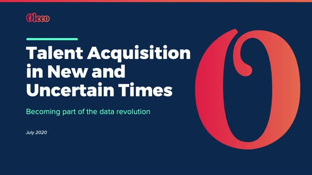 Talent Acquisition in New and Uncertain Times