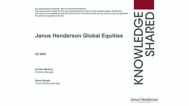 Janus Henderson Global Equity: Investing to benefit from long-term secular
