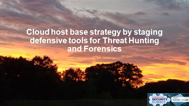 Best Practice for Cloud Host-Based Forensics