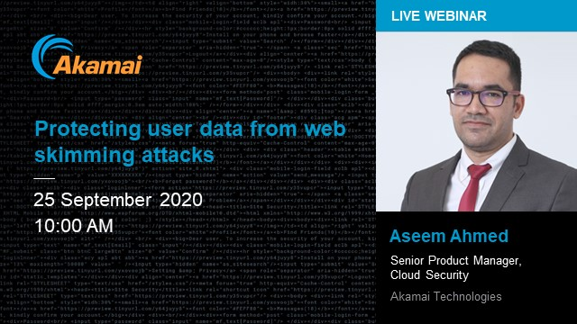 Security Briefing | Protecting User Data from Web Skimming Attacks