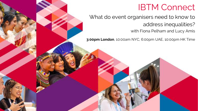 What do event organisers need to know to address inequalities