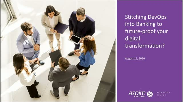 Stitching DevOps into Banking to future-proof your digital transformation