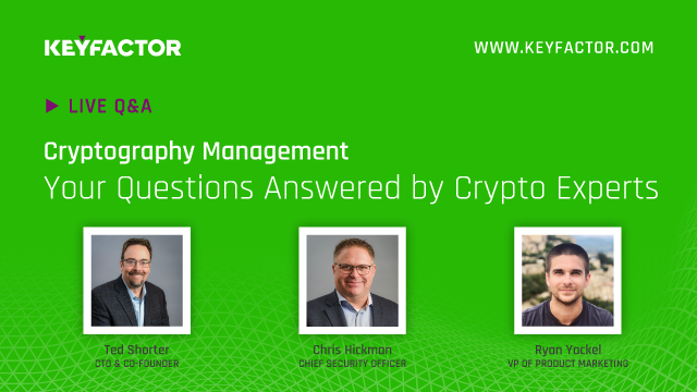 Cryptography Management: Your Questions Answered by Crypto Experts