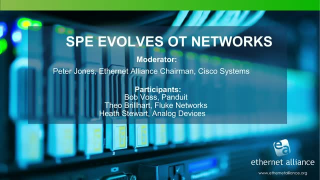 SPE Evolves OT Networks