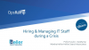 Hiring and Managing IT Staff During a Global Crisis